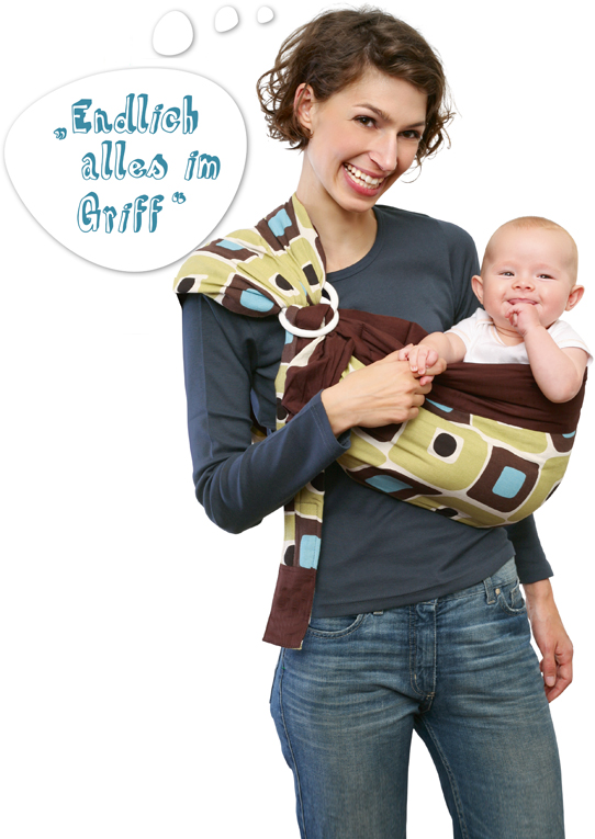 tragmich das flexible baby tragetuch tragmich babysling die flexible baby tragetuch. Black Bedroom Furniture Sets. Home Design Ideas
